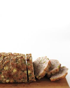 Greek-Style Turkey Meatloaf with dill and feta