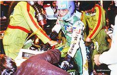 Herve Guilleux.Kawasaki Performance.Bol d'Or 1982.