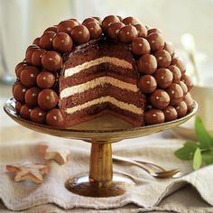 Layer cake de chocolate y moka Chocolate Caliente, Chocolate Cake, Tiramisu, Tartan, Breakfast, Ethnic Recipes, Recipe Collections, Cakes, Cat Stuff
