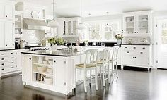 Beautiful kitchen from movie SOMETHINGS GOTTA GIVE! See more pictures from the movie..