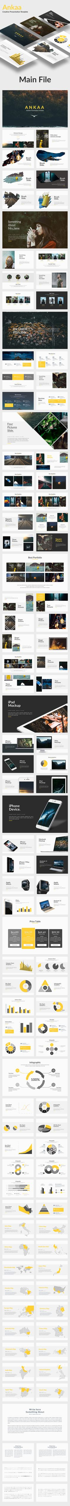 Ankaa - Creative Keynote Template - Creative #Keynote Templates Download here: https://graphicriver.net/item/ankaa-creative-keynote-template/19678829?ref=alena994