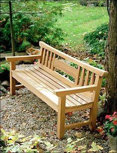 Japanese Garden Bench Project Plan