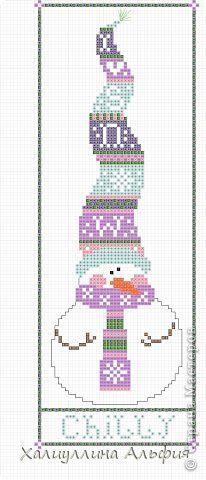 ❣ Little Kimono Handmade ❣ : Patrones Punto de Cruz · Muñecos de Nieve