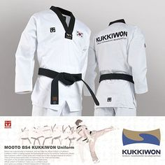 Kukkiwon Badges Patches 5 pcs Set World Taekwondo Headquarter Emblem Embroidered