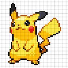Pikachu – Minecraft Pixel Art - Minecraft World Pikachu Pikachu, Pixel Art Pokemon Pikachu, Easy Pixel Art, Cool Pixel Art, Pixel Art Grid, Pixel Art Avengers, Pixel Art Minecraft, Minecraft Pixel Art, Pixel Art