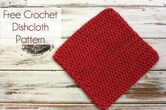 Need an easy crochet dishcloth pattern? This is the very first and the most popular of my crochet dishcloth patterns I have created. Find outwhy I started crocheting and enjoy the pattern. I have started hookin' and love it! Crocheting that is. It all started with my sister getting married. She had basically nothing for her kitchen. She made the comment she didn't really have any dishcloths. I looked around and didn't really find any that I wanted to give her so I decided I would...