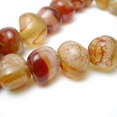 Carnelian Beads $4.00