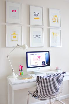 white x bright office space