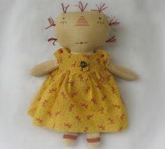 Ragdoll Cloth Doll Primitive Doll Prim Ragdoll Prim by RaggedyUp, $15.00