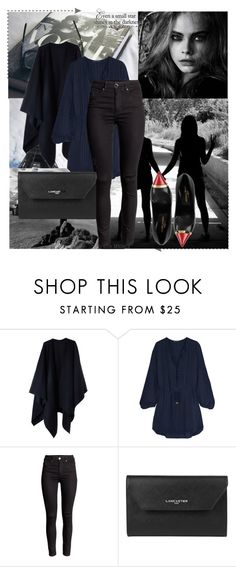 """""""Paris Adele"""" by laylahwoodson24 ❤ liked on Polyvore featuring Acne Studios, ViX, Lancaster and Yves Saint Laurent"""