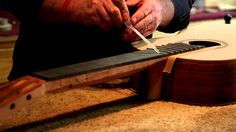 How to carve a neck on a classical guitar