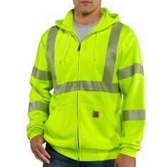 Men's Original Fit, 10.5 Ounce Poly with a Stain Release Finish, 3M™ Scotchlite™ Reflective Material  SIZE:XL