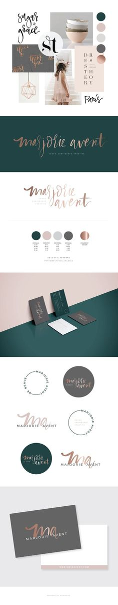 MARJORIE AVENT BRANDING BY STUDIO 9 CO