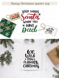 Funny Christmas quotes svg. Christmas ornament svg Christmas | Etsy