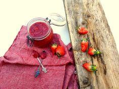 Aardbeien jam; zelfgemaakt en suikervrij   Jouw Fabriek