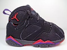 16c98d0f6ba2 Nike Air Jordan Retro 7 Raptor Babies shoes Toddlers size 7C US 304772-018