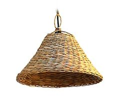 Lámpara de techo en anea