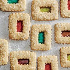 Magic window cookies recipe