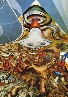 Death to the Invader, 1941-1942David Alfaro Siqueiros - by style - Muralism