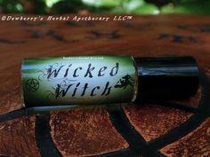 WICKED Witch MINI RollOn Luxurious Spellbinding by DewberrysHerbal, $15.95