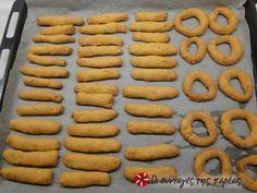 Κουλουράκια καρότου 🥕 αλμυρά 2 φωτογραφία βήματος 3 Croissants, Tart, Sausage, Sandwiches, Rolls, Bread, Vegan, Cookies, Ethnic Recipes