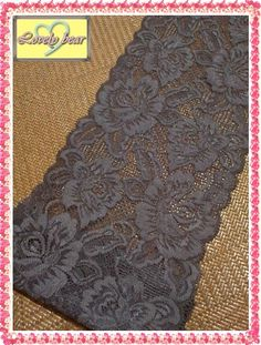 Custom-B32  Stretchy Elastic Lace trim Waist by LovelyBearLace