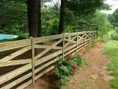 farm fence ideas - Google Search