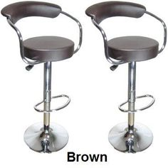 Special Offers - Set of (2) Brand New Brown Swivel Leather Bar Stool Pub Barstool - In stock & Free Shipping. You can save more money! Check It (May 07 2016 at 11:39AM) >> http://counterstoolsusa.net/set-of-2-brand-new-brown-swivel-leather-bar-stool-pub-barstool/