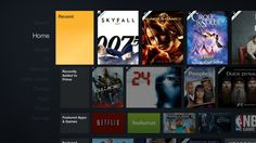 Amazon Fire TV Home Digital Web, Tv App, Amazon Fire Tv, Video Library, Home Tv, Home Movies, Interactive Design, Smart Tv, Web Browser