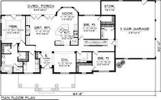 Plan #70-1050 - Houseplans.com