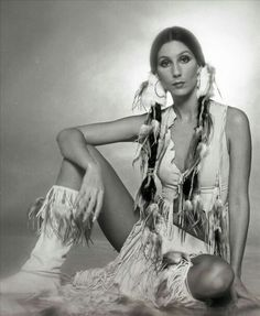 Cher, with her real CHER HAIR ! Thnx.