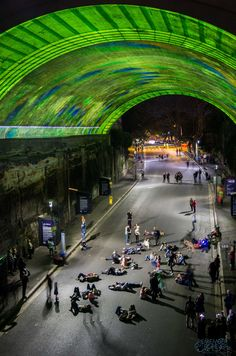 #VIVID 2015 #Photography #Workshops Join Kirsten to learn how to take stunning #Images just like this! #Lights #Night #City #Tunnel