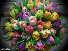 Lapas - Ideju tarba - Ideju tarbas GALERIJA - Ielaid pavasari - krokusi no kreppapīra! - draugiem.lv. tutorial