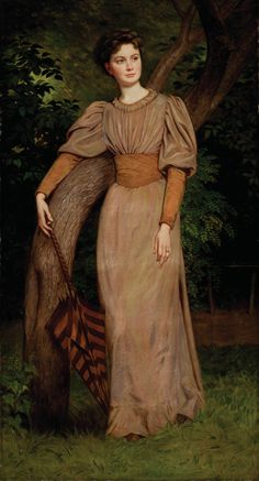 1880 Bertalan Székely - Portrait of Zseni Székely (Gábor Kovács Collection) Victorian Paintings, Victorian Art, Fashion Painting, Pre Raphaelite, Portraits, Fine Art, Beautiful Paintings, Female Art, Art History