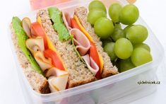 krabicky Lunch To Go, Hot Dogs, Meal Prep, Eat, Cooking, Ethnic Recipes, Fitness, Food, Drink