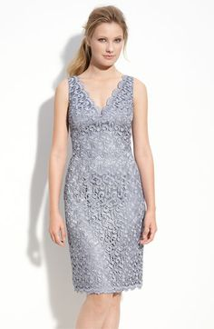 Adrianna Papell Lace Sheath Dress (Petite)   Nordstrom