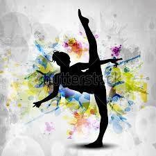 Resultado de imagem para ginastica ritmica desenhos