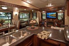 Best Interior Design For RV 20 Rv Interior, Best Interior Design, Camper Equipment, Luxury Rv Living, Folding Campers, Rv Floor Plans, Fifth Wheel Campers, Rv Trailers, Travel Trailers
