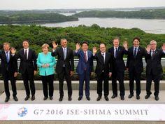 Shinzo Abe diz que G7 vê sérios riscos para a economia mundial