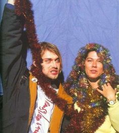 Kurt Cobain and Kim Deal