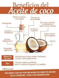 Los beneficios del ACEITE DE COCO…