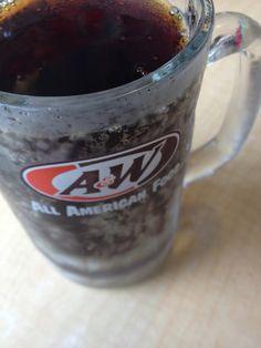Root Beer #aandw #allamerican