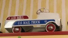 U.S. Mail Truck Pedal car
