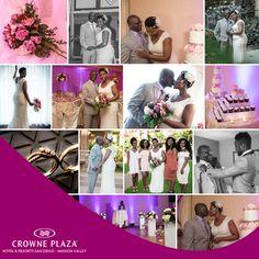 We love hosting weddings at our #hotel! CrownePlazaWeddings