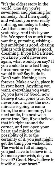 Ending quote from one tree hill
