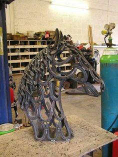 Horseshoe horse