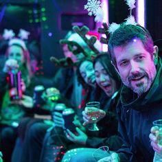 Party, party, party, party, YEAH! #party #festive #purple #funny #cute #friends #team #music #instalike
