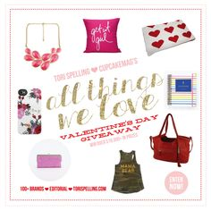 Love everything about you Tori. Inside and out you seem like such a genuine person. Would love to WIN! #ValnetinesDayGiveaway #Tori   All Thing We Love Giveaway http://disq.us/8h4pgu
