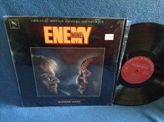 RARE Vintage Enemy Mine  Original Film Score by sweetleafvinyl