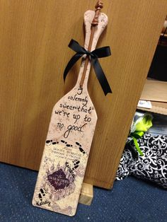 Harry Potter paddle